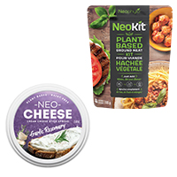 Neophyto Foods products; NeoCheese and NeoKit